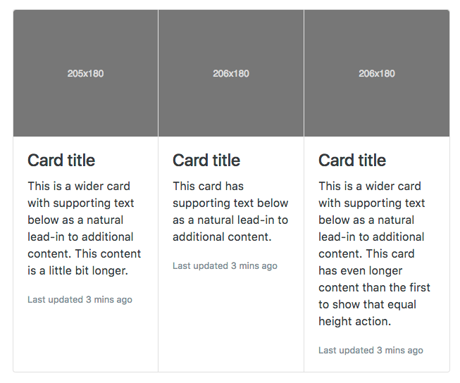 bootstrap .card-group