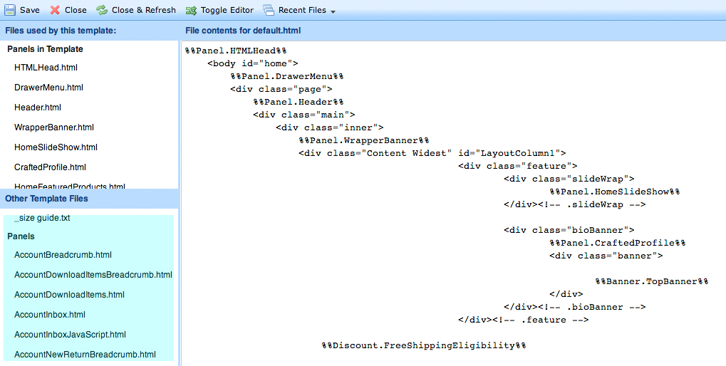 html-edit-panel