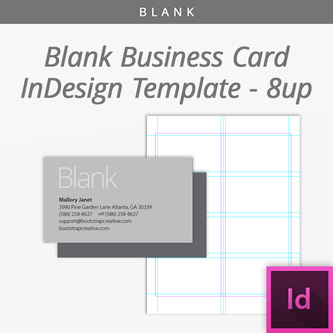 Blank business card template bc shop bootstrapcreative colourmoves