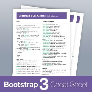 Bootstrap 3 all classes list cheat sheet reference pdf updated 2018 bootstrap 3 classes cheat sheet pdf ccuart Images
