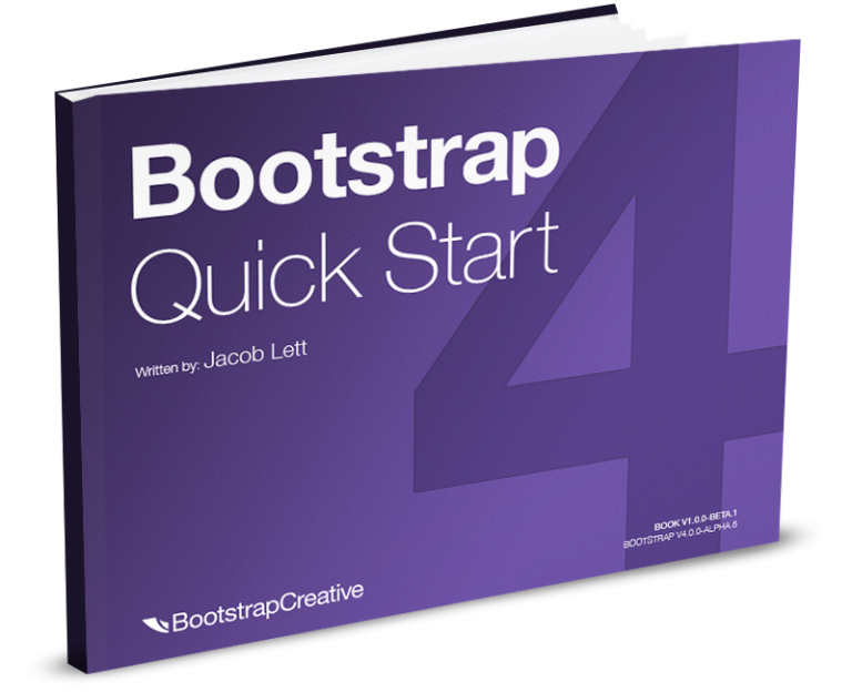 Bootstrap 4 Quick Start Tutorial PDF Book