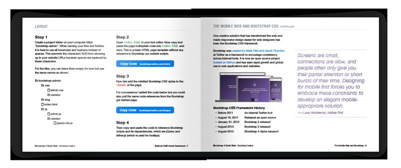 bootstrap tutorial pdf