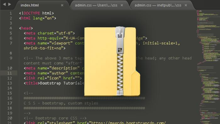 project files zip