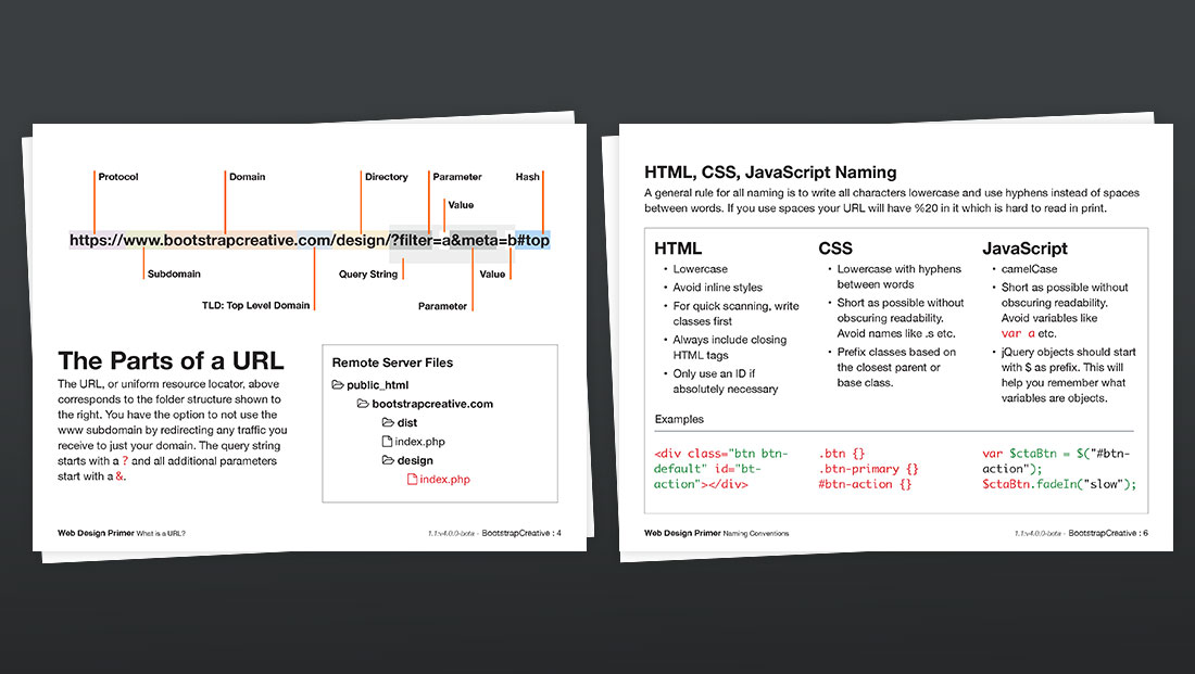 Web Design And Frontend Development Primer For Beginners Pdf Bootstrapcreative