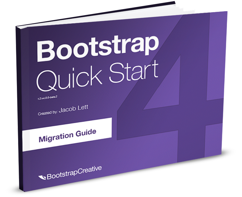 Bootstrap 4 Migration Guide PDF