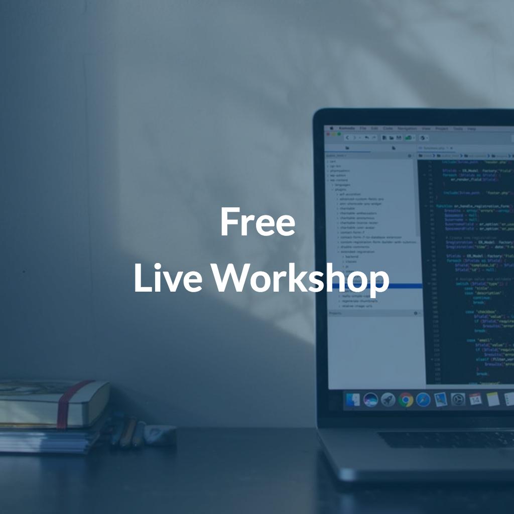 free live workshop bootstrap 4 responsive design