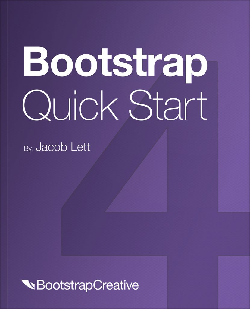 Bootstrap 4 Quick Start Book PDF