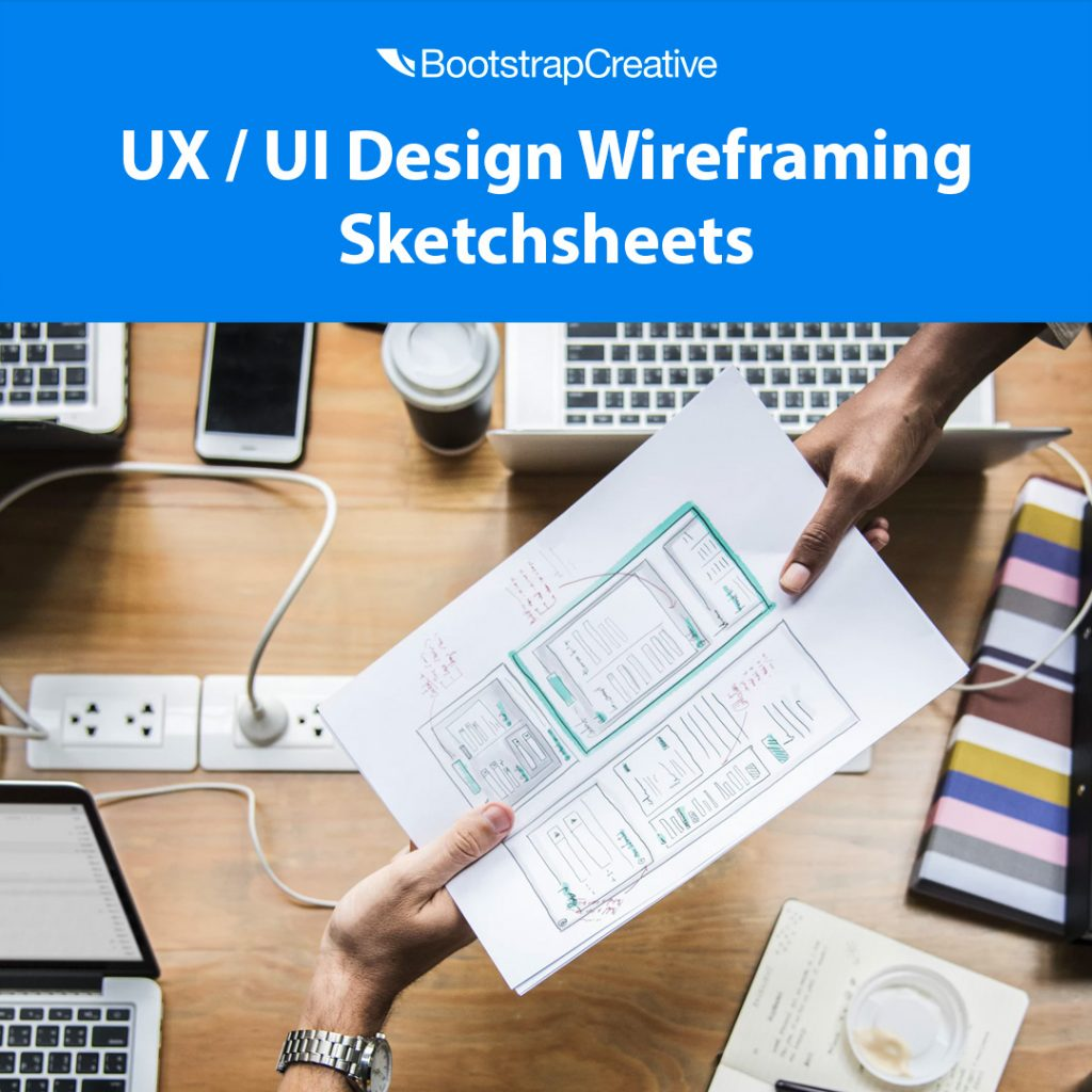 ux ui design wireframing sketchsheets